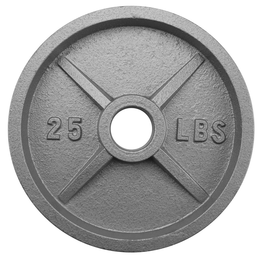 25lb Olympic Style Iron Weight Plate
