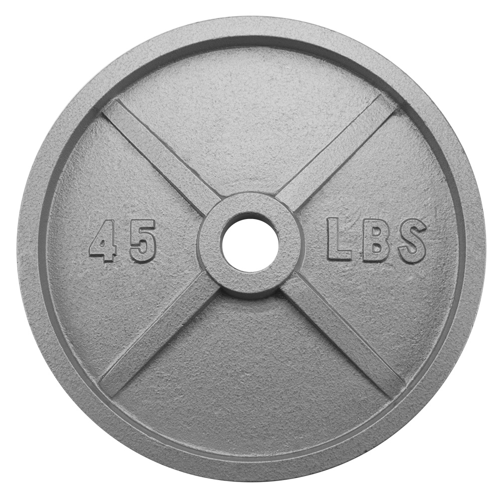 45lb Olympic Style Iron Weight Plate