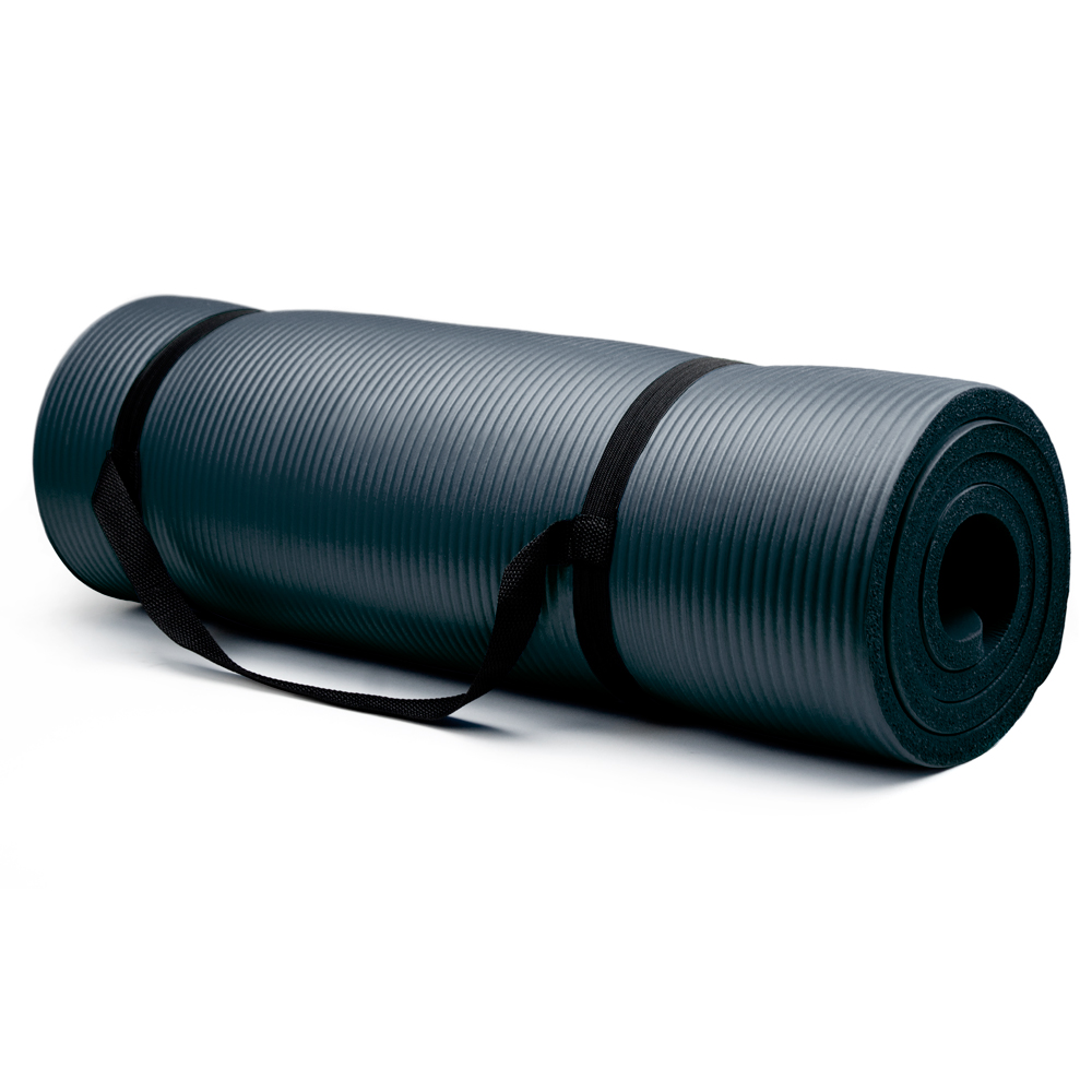 Extra Thick (3/4in) Yoga Mat - Black