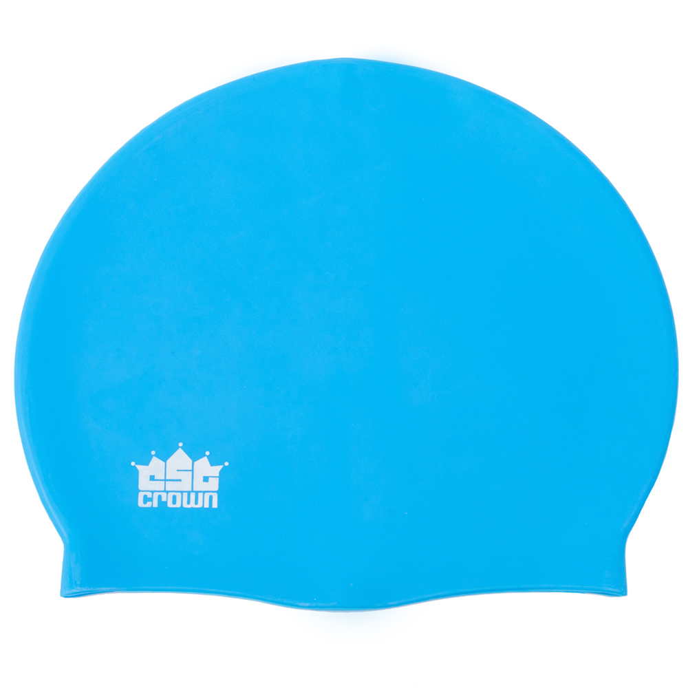 Silicone Swim Cap, Blue