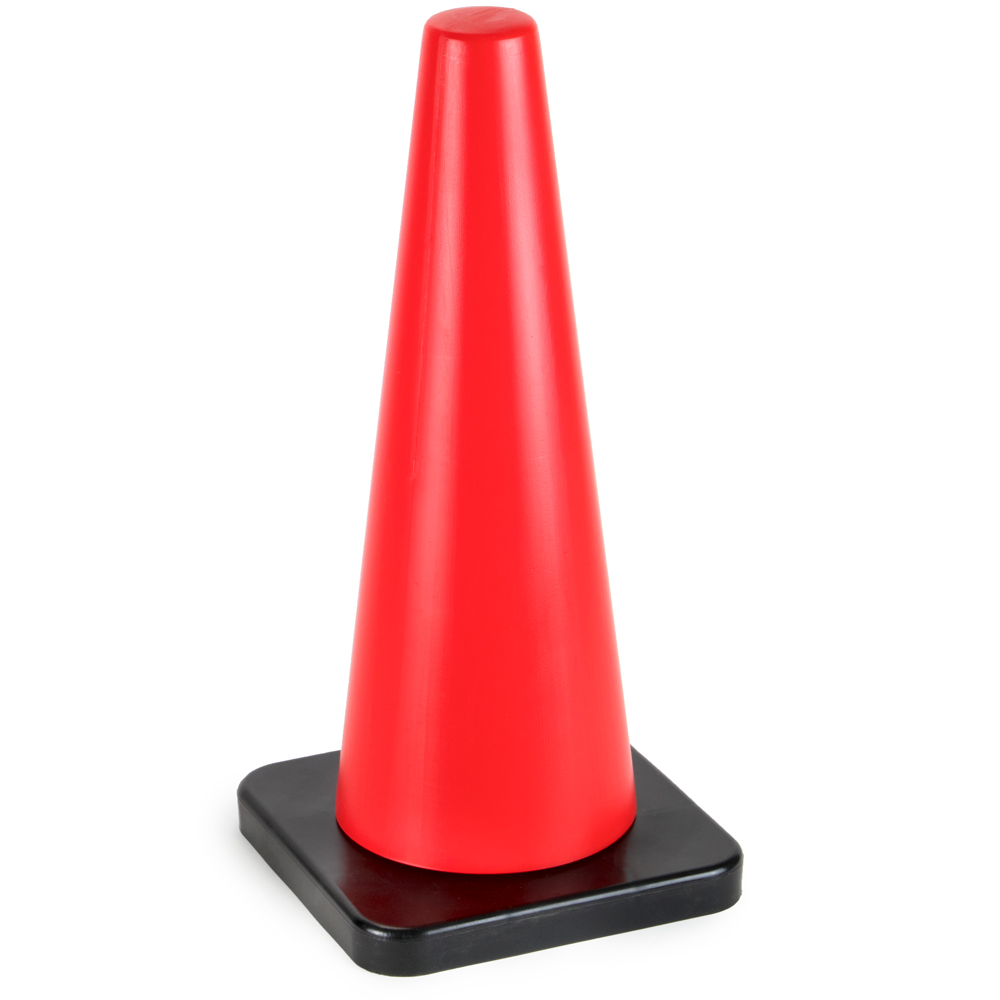 "18"" High Hat Traffic Cone"