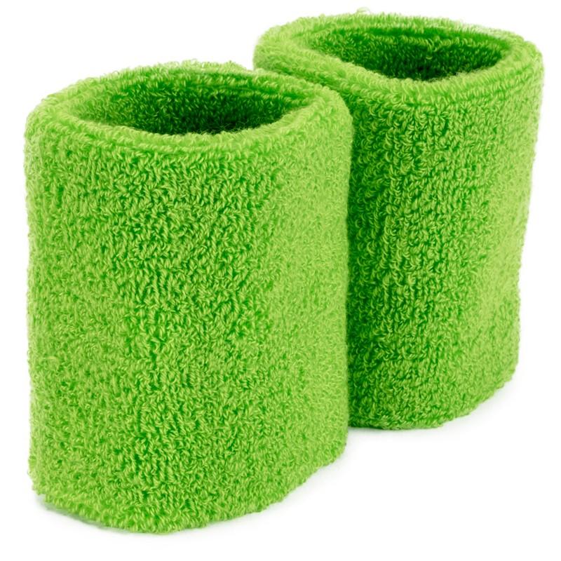 Wrist Sweatbands 2-pack, Green