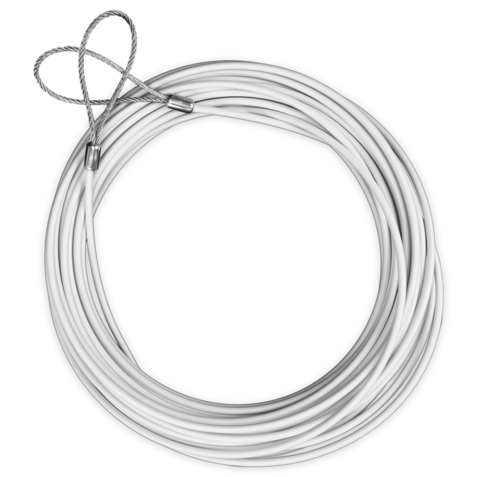 47' Replacement Tennis Net Cable, White