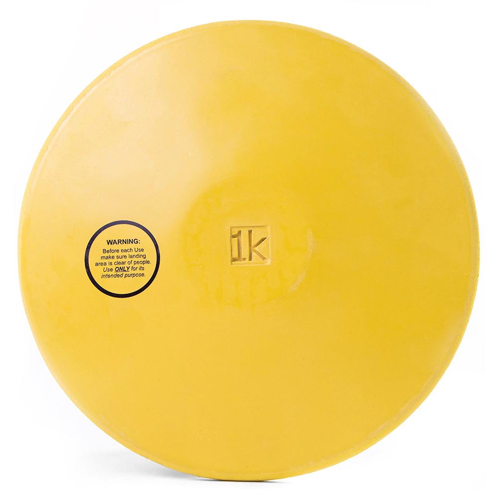 Rubber Practice Discus, 1kg