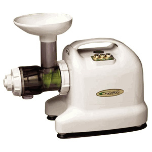 Samson 6-1 Single Auger Wheatgrass & Multi Purpose Juicer - Ivory