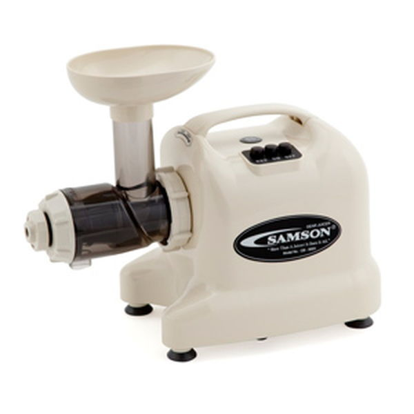 Samson Gb9003 Single Auger Juicer - Ivory