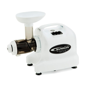 Samson GB9004 Single Auger Juicer - White