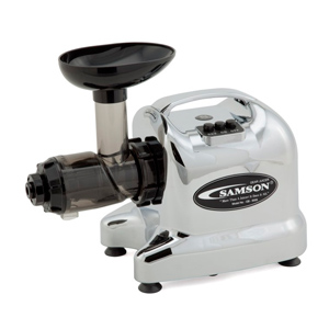 Samson GB9006 Single Auger Juicer - Chrome