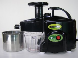 Green Power KPE1304 Twin Gear Juicer - Black