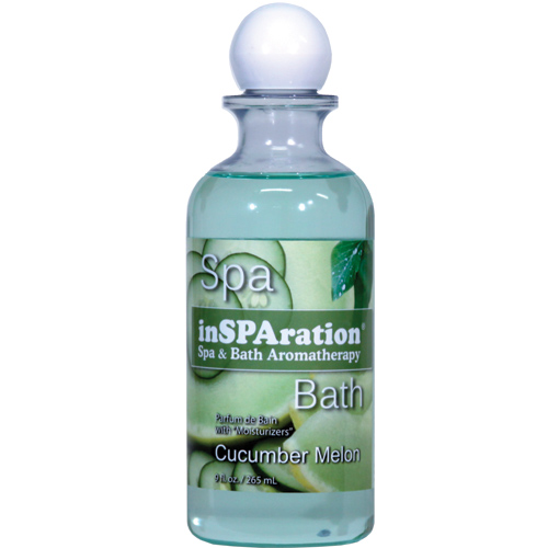 Fragrance, Insparation Liquid, Cucumber Melon, 9oz Bottle
