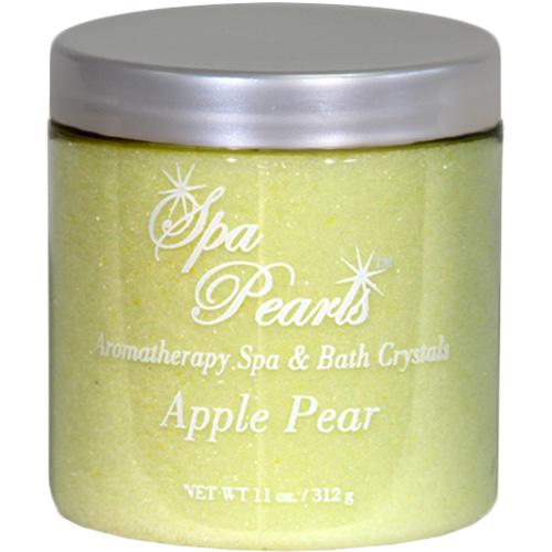 Fragrance, Insparation Spa & Bath Pearls, Apple Pear, 11oz Jar