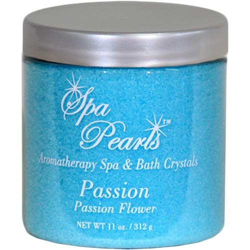 Fragrance, Insparation Spa & Bath Pearls, Passion Flower, 11oz Jar