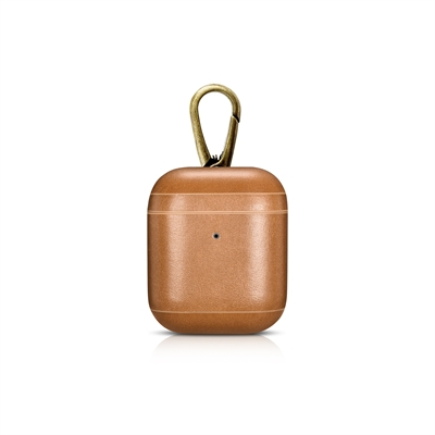 CarryOn Cml Leather AirPod Cse