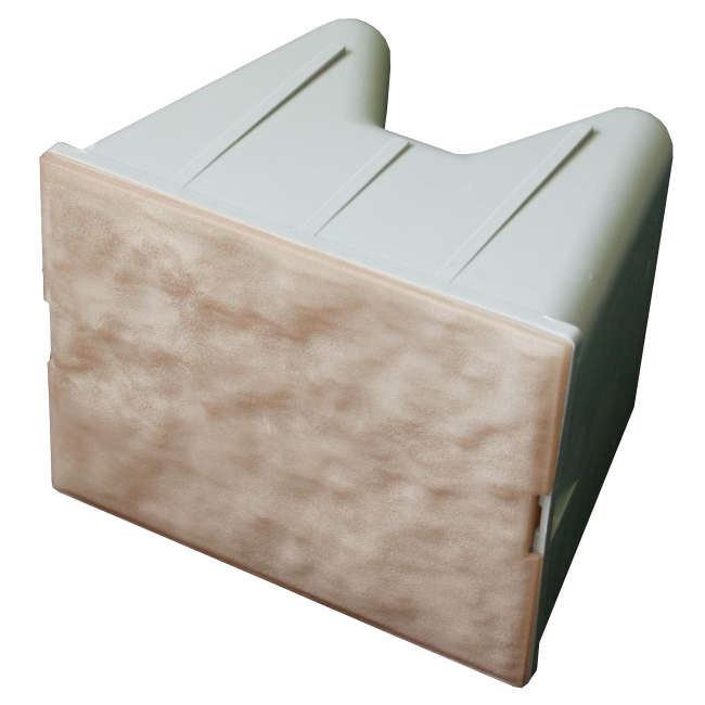 6 x 8 Retaining Wall Lights Box/8 Tan