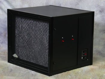 Electronic Air Cleaner - 230v,AC/50Hz/ 3amps, 60Hz avail - Wood Grain (Walnut) Cabinet
