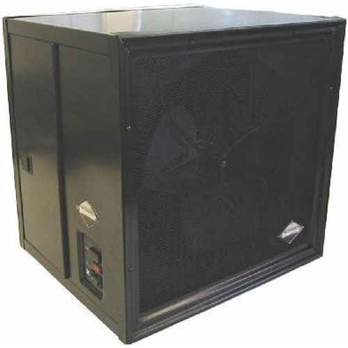 Electronic Air Cleaner - 230v,AC/50Hz/ 3amps, 60Hz avail - Black Cabinet Finish