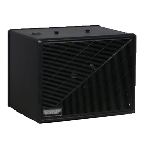 Maxum Electronic Air Cleaner - 20' x 20' - 230v, AC/50/60 Hz/.30 amps - Black Cabinet Finish