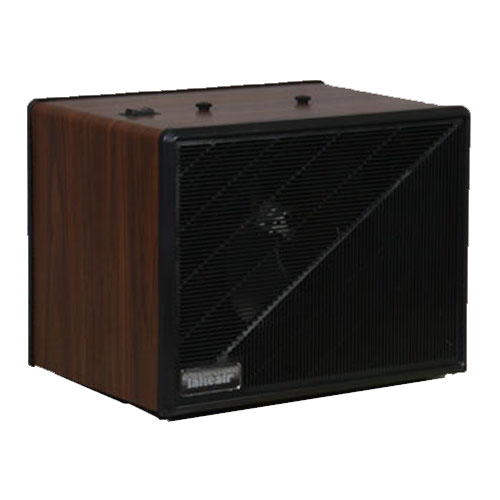 Maxum Electronic Air Cleaner - 20' x 20' - 230v, AC/50/60 Hz/.30 amps - Wood Grain Cabinet Finish