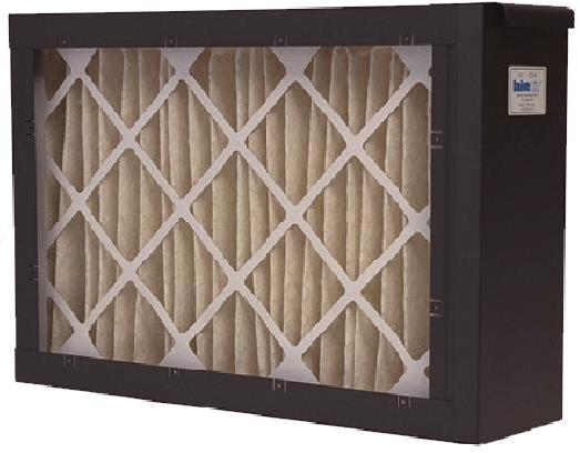 """Convertible Media Air Cleaner with 18"""" 14"""" Duct Opening"""
