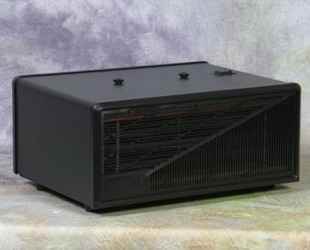 Excel Electronic Air Cleaner - 15' x 15' - 230v, AC/50/60 Hz/.30 amps - Black Cabinet Finish