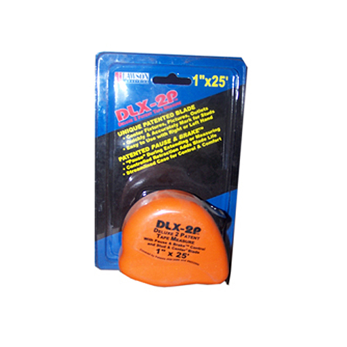 DLX-2P Tape Measure - Blue