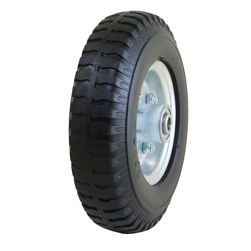 Narrow Flat Free Tire with Centipede Tread, 2.80/2.50-4""