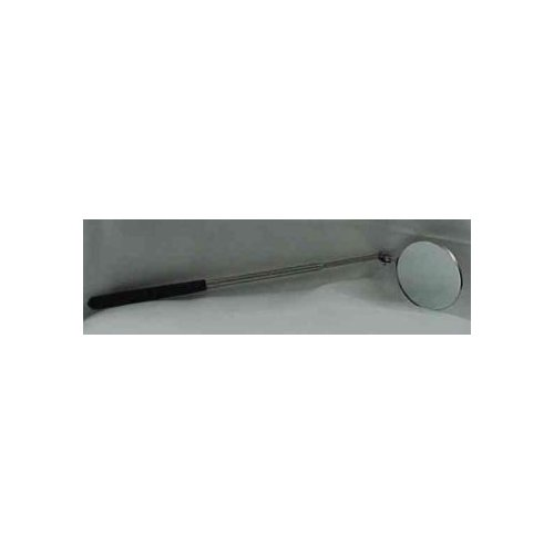 3 1/4-inch diameter, round inspection mirror