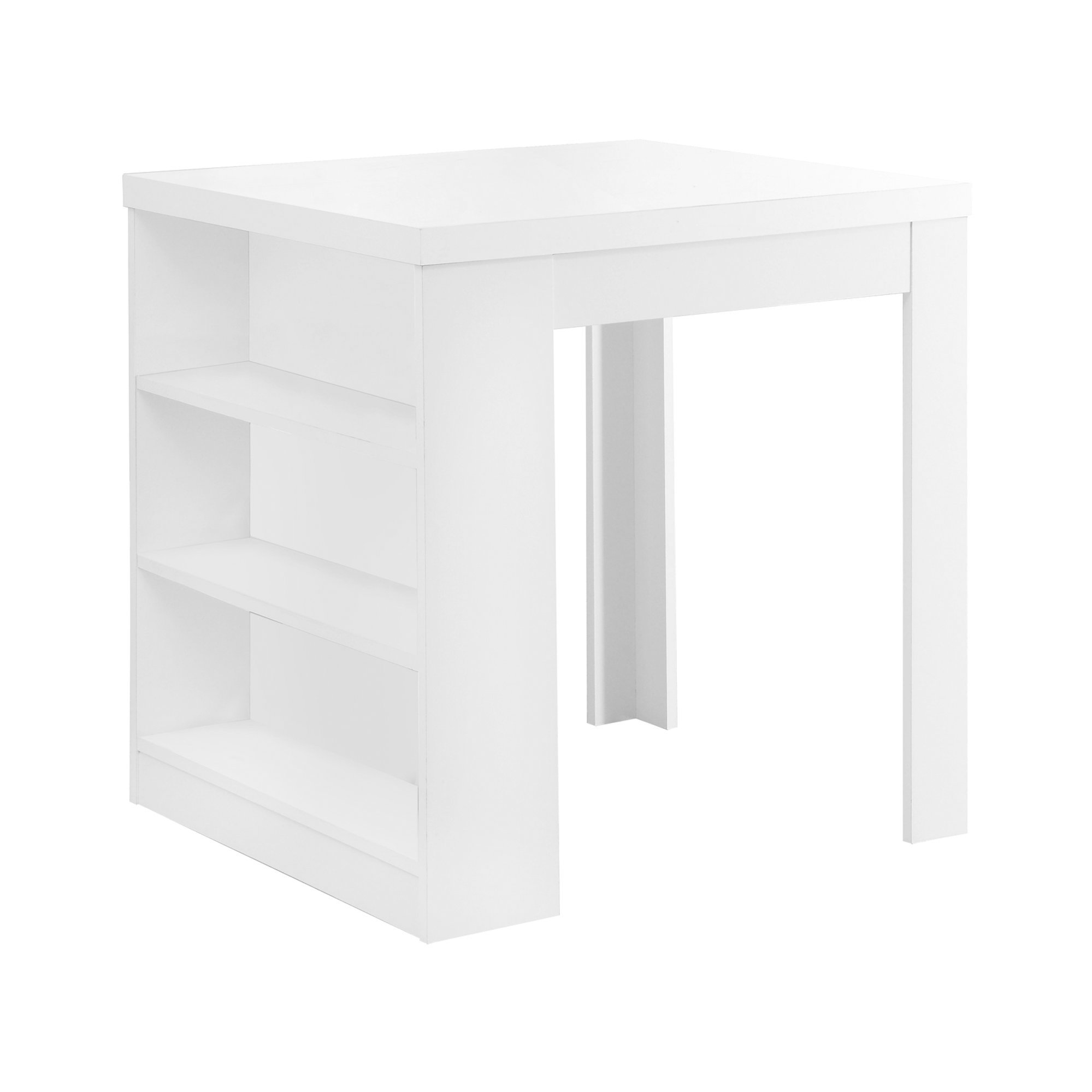 "32"" Counter Height Dining Table, White"
