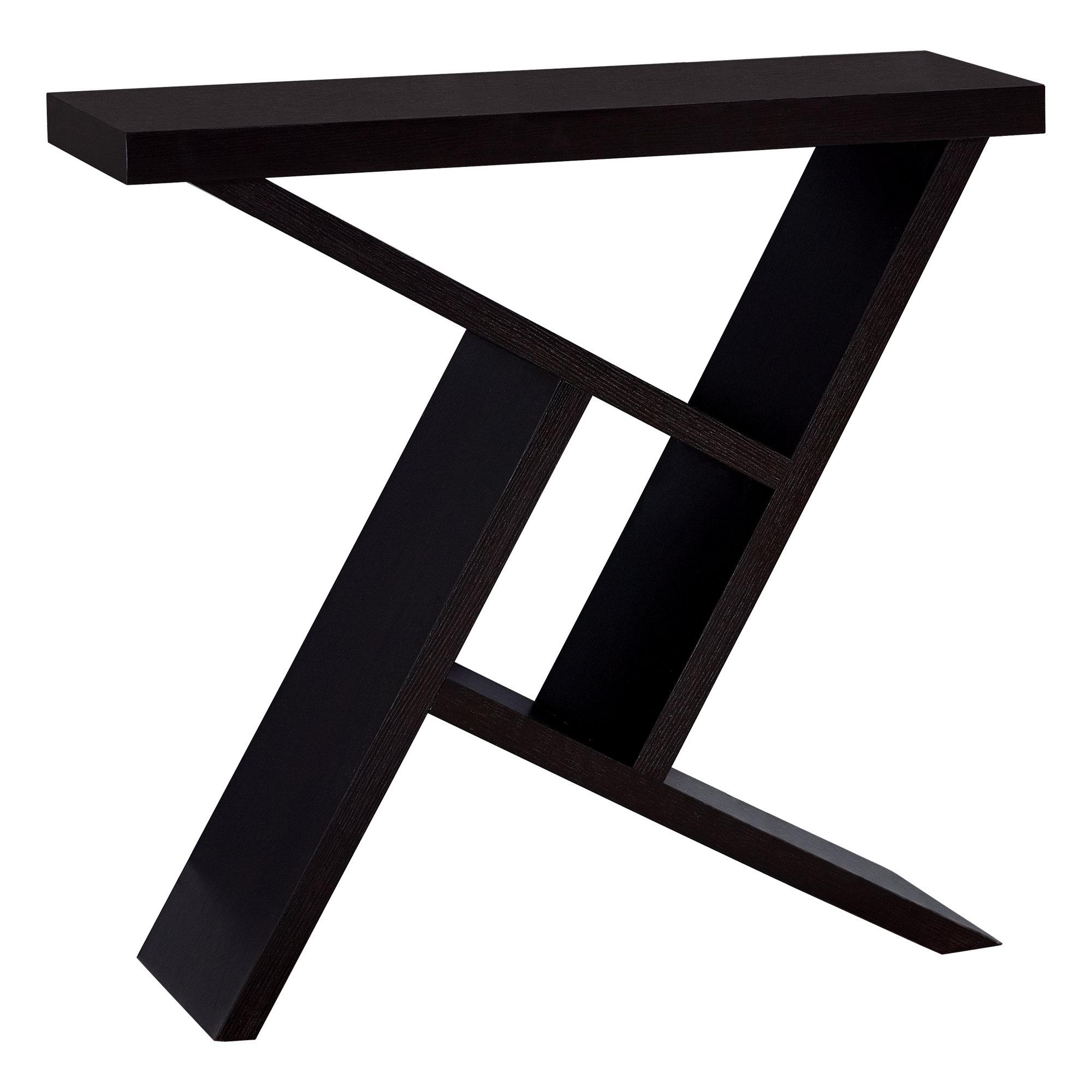 "ACCENT TABLE - 36""L / CAPPUCCINO HALL CONSOLE"