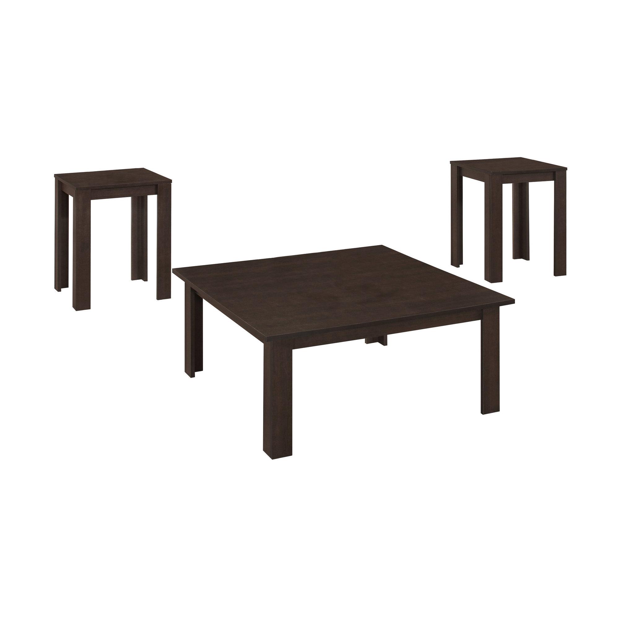 TABLE SET - 3PCS SET / CAPPUCCINO