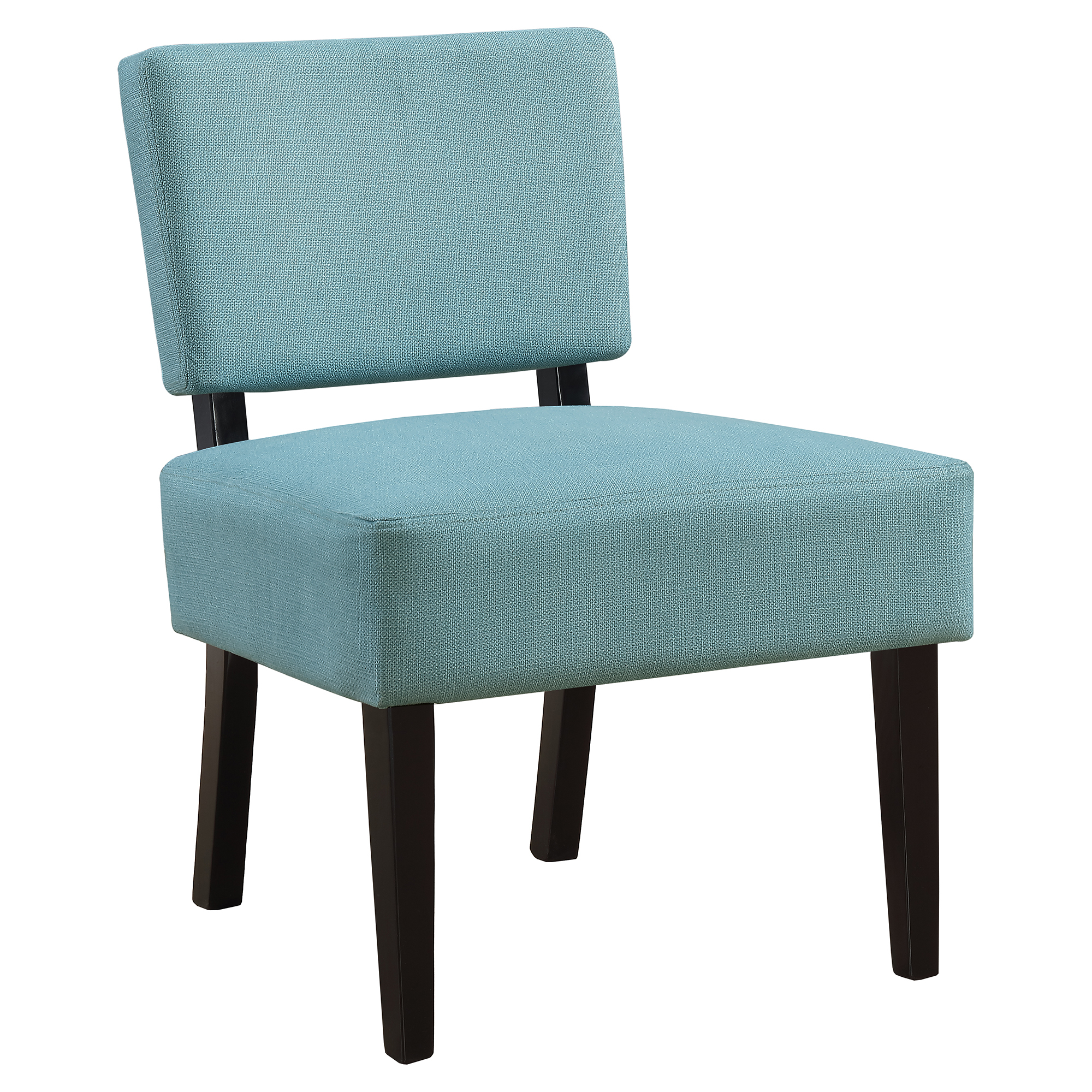 ACCENT CHAIR - TEAL FABRIC