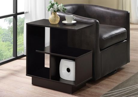 """ACCENT TABLE - 24""""H / CAPPUCCINO"""