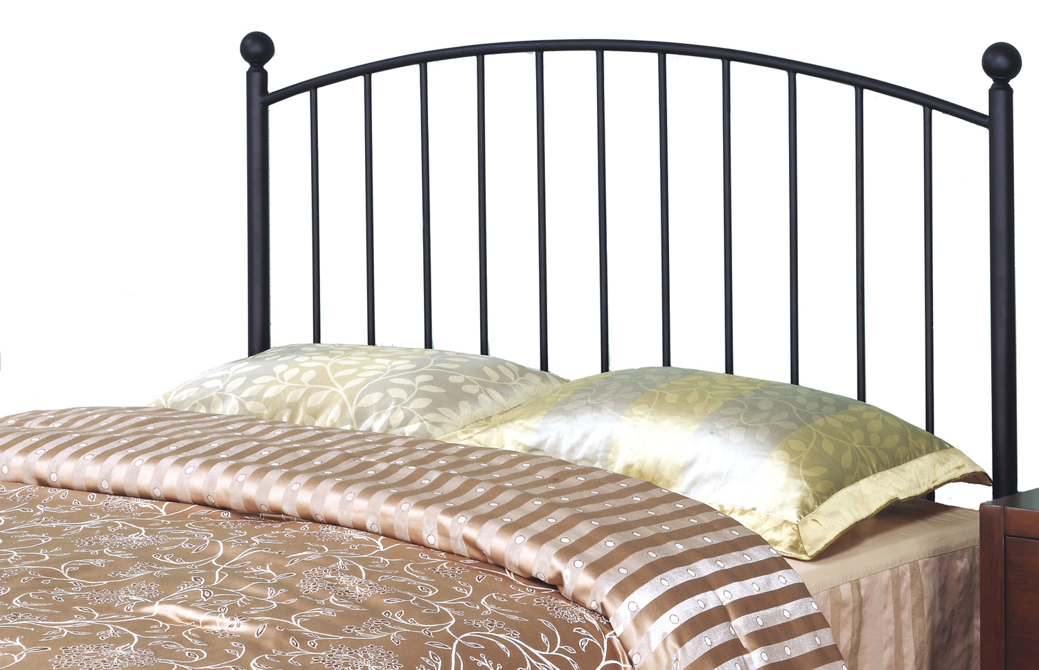 Queen Or Full Size Bed Headboard or Footboard, Coffee
