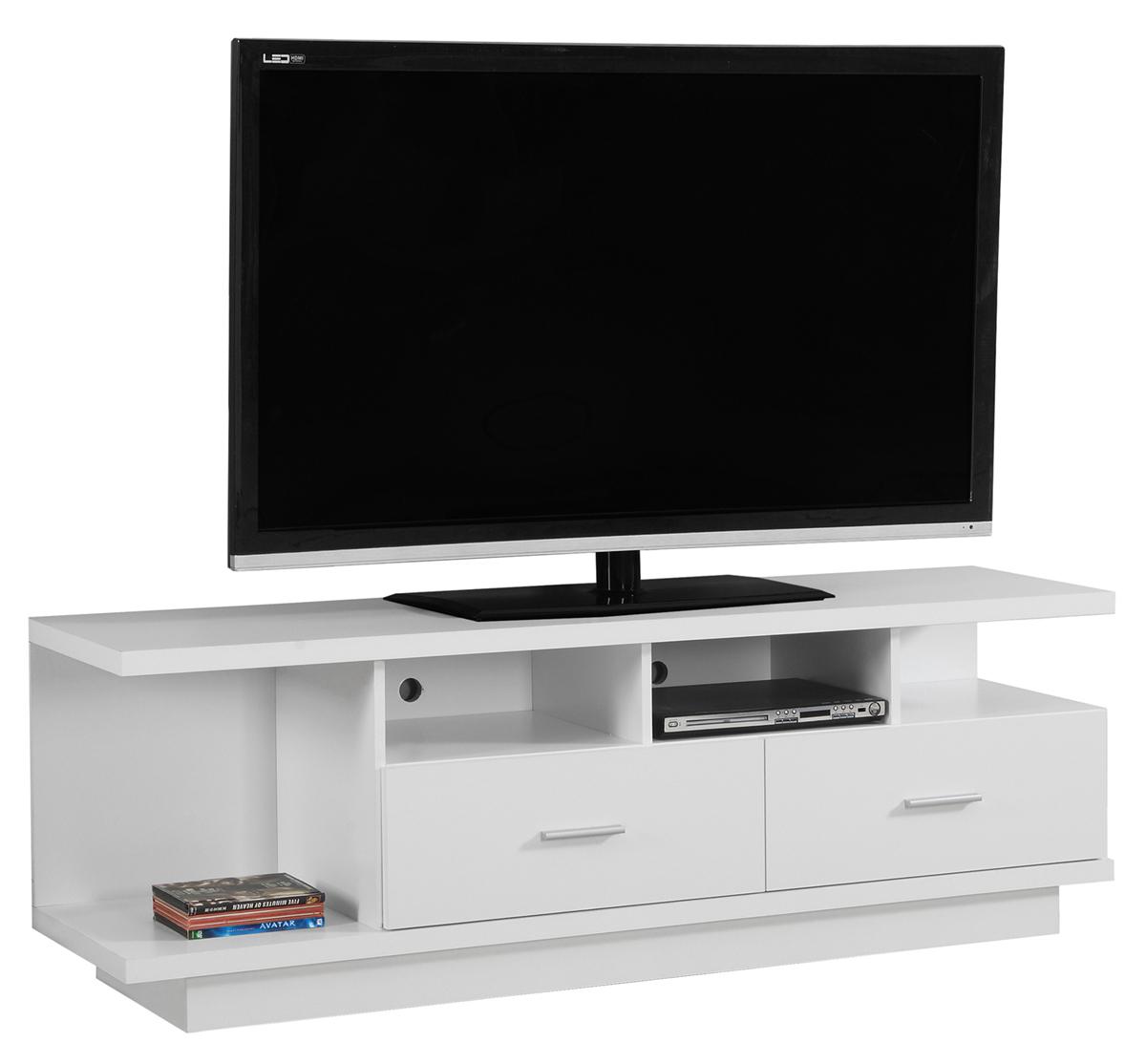 """60"""" TV Stand, White"""