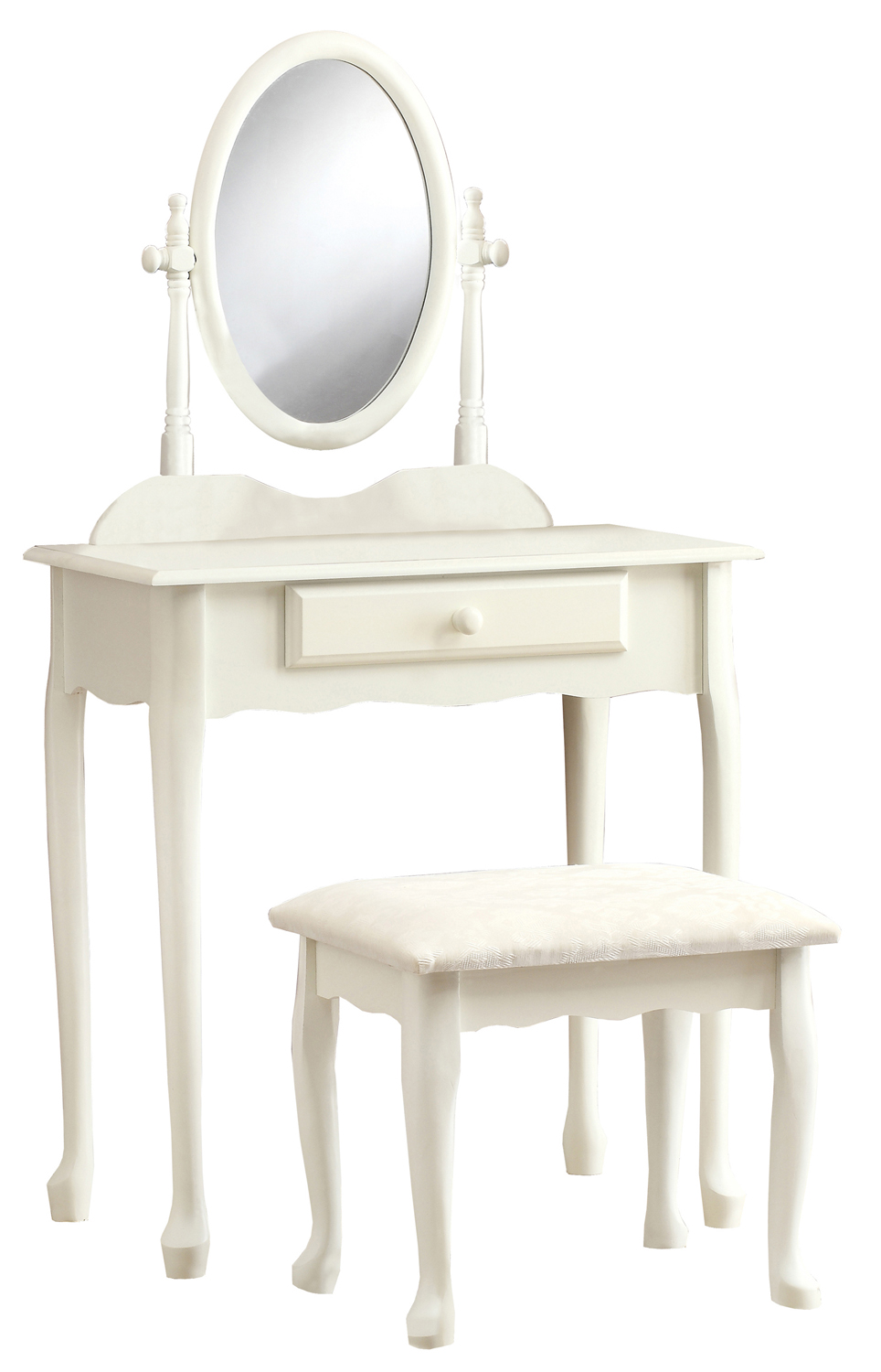 Vanity Set - 2 Pieces Set / Antique White