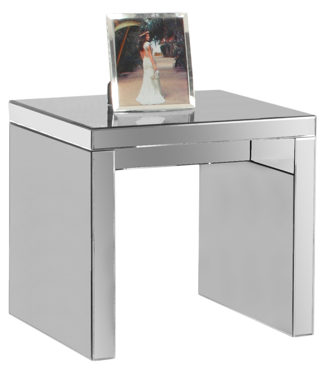 """End Table - 24""""X 24"""" / Mirror"""