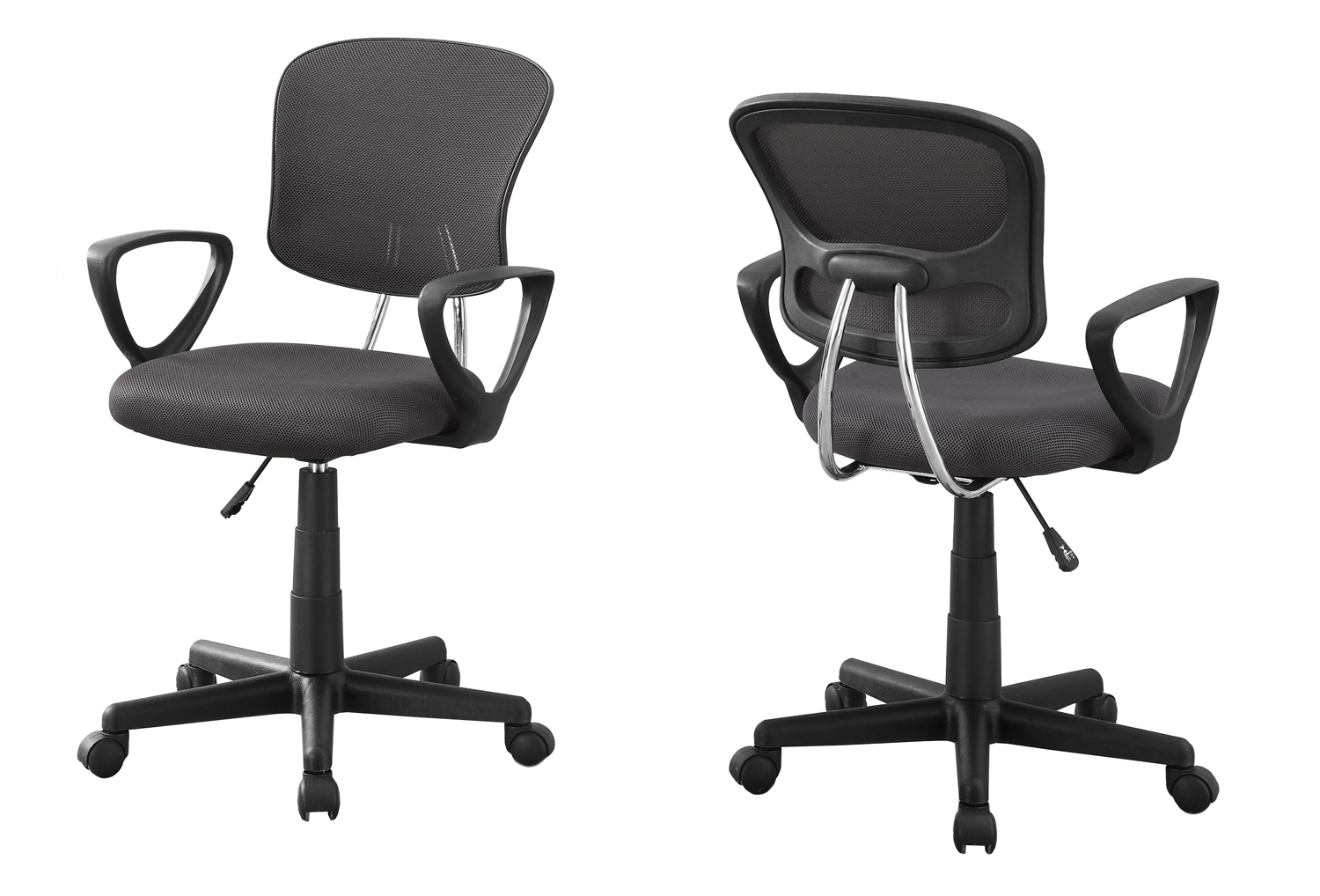 Office Chair - Grey Mesh Juvenile / Multi Position