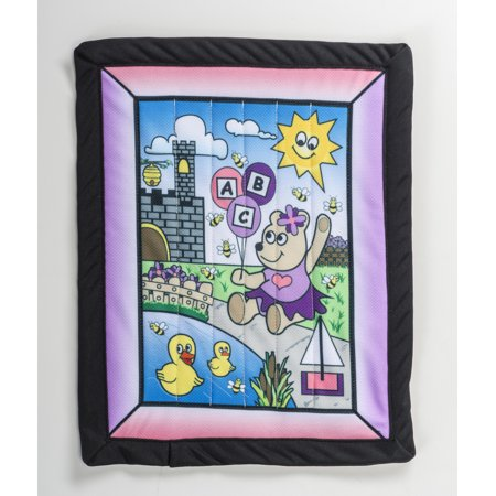 "Changing Pad kit, Girl Bear 22"" x 29"""