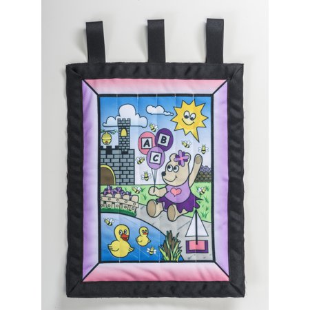 "Wall Hanging kit, Girl Bear 22"" x 29"""
