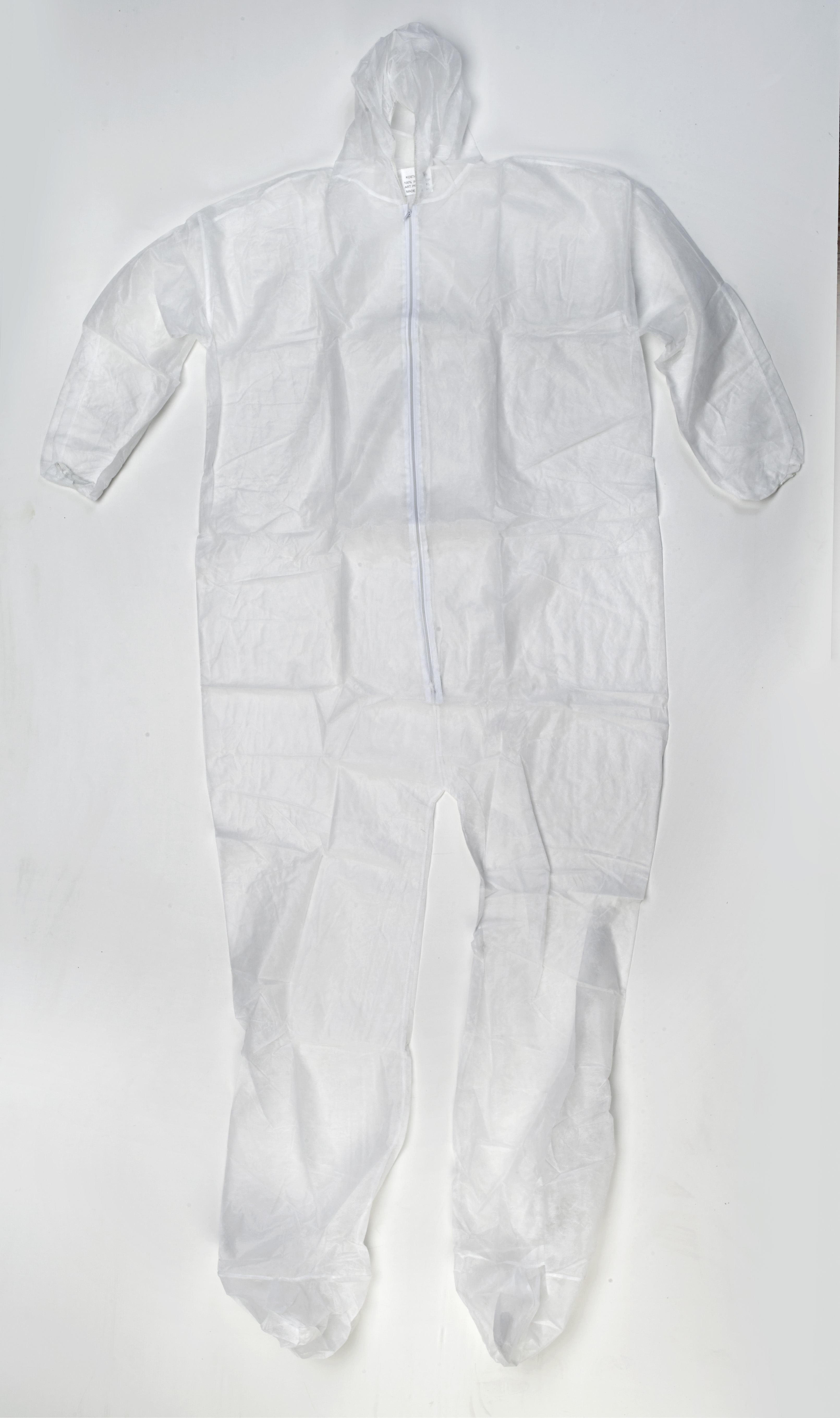 Disposable Polypro Coverall, 30 g, 4X-Large, White (Pack of 25)