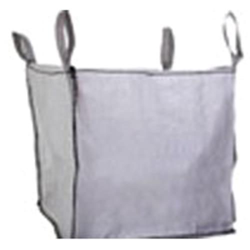 Polypropylene Bulk Bag, 3000 lbs Capacity, 3ft. Length x 3ft. Width x 3ft. Height