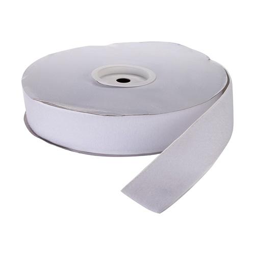 """Pressure Sensitive Loop Fastening Tape Roll, 25 yds Length x 4"""" Width, Black"""