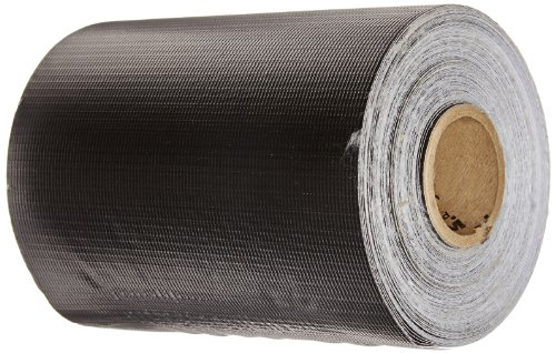 "3-Ply Harlequin Aerial Paneling Material, 100' Length x 6"" Width, Black/White"