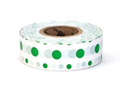 Ultra Standard, Green and White Dot (Pack of 12)