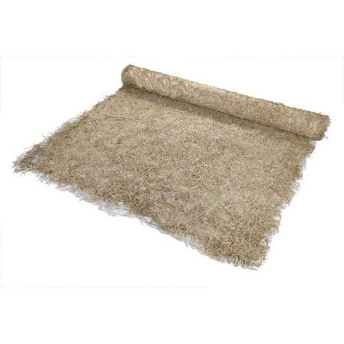Straw/Coconut Fiber Blanket, 112-1/2' Length X 8' Width