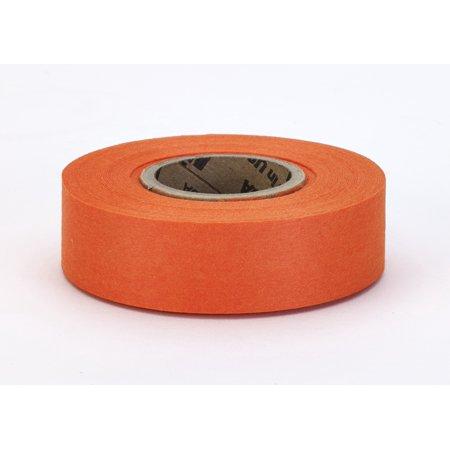 "Biodegradable Flagging Tape, 1"" x 100', Glo Orange"