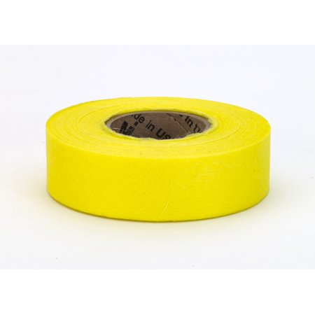 """Biodegradable Flagging Tape, 1"""" x 100', Yellow"""
