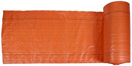 "MISF 1845 Polyethylene Silt Fence Fabric, 1500' Length x 36"" Width, Orange"