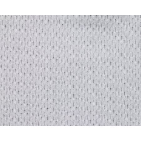 "100% Poly micro mesh 4.2 oz. White 60"" - 5 yards"