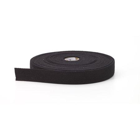 "Twill tape, 1"" Wide, 36 yds, Black"